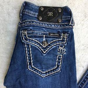 "Miss Me Skinny Jeans Size 26x30.5"""